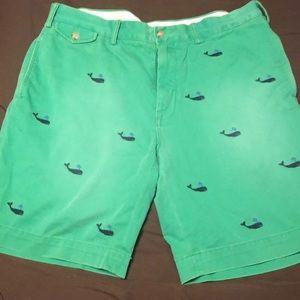 Polo Ralph Lauren Green Shorts New